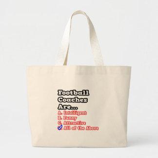 Chiste del concurso del entrenador de fútbol… bolsas lienzo