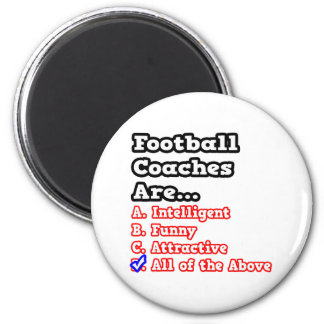 Chiste del concurso del entrenador de fútbol… iman para frigorífico