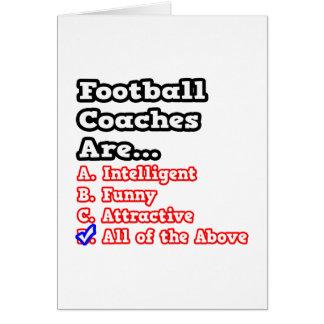 Chiste del concurso del entrenador de fútbol… felicitación