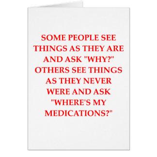 chiste loco del psiquiatra tarjeta