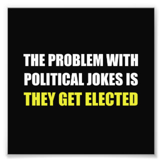 Chistes políticos elegidos fotografía