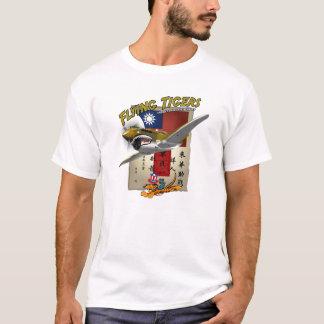 Chit de la sangre de Flying Tigers P-40 Camiseta