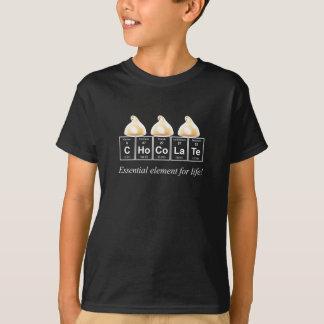 Chocolate blanco camiseta