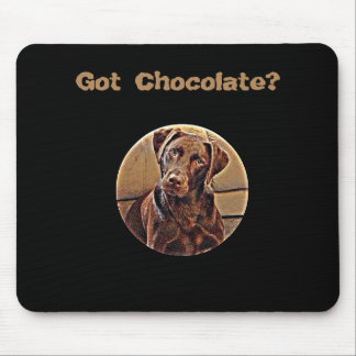 ¿Chocolate conseguido? Alfombrilla De Ratón