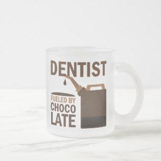 Chocolate del regalo del dentista tazas de café