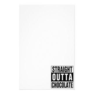 Chocolate recto de Outta Papeleria