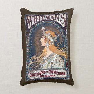 Chocolates y almohada de los dulces