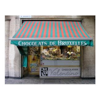 Chocolatier, Bruselas, Bélgica Postal