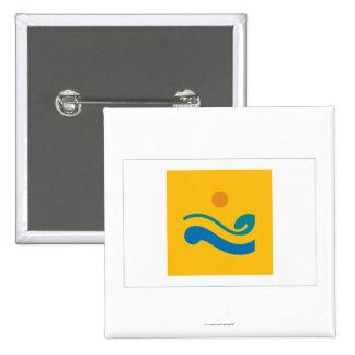Chollanam-señale por medio de una bandera chapa cuadrada 5 cm