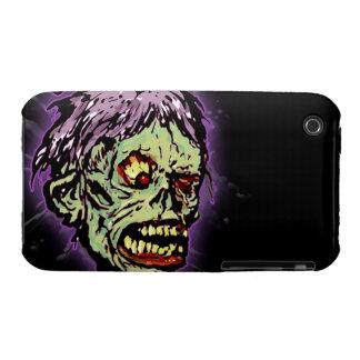 Choque del monstruo del zombi (vintage) Case-Mate iPhone 3 funda