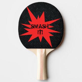 ¡Choque él! Paleta divertida reversible del Pala De Ping Pong