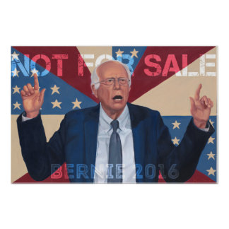 """Chorreadoras de Bernie """"no para la venta """" Póster"""