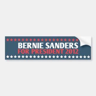 Chorreadoras de Bernie para el presidente pegatina Pegatina Para Coche