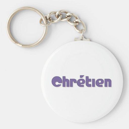 Chrétien Llavero Personalizado