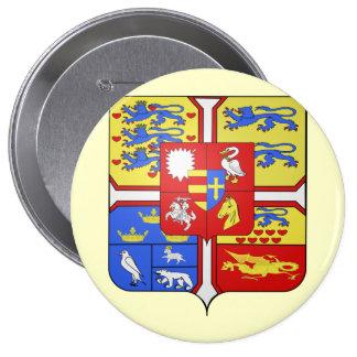 Christian X de Danemark Dinamarca Pin