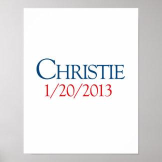 CHRISTIE 1-20-2013 POSTER