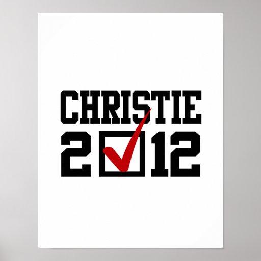 CHRISTIE 2012 DEL VOTO IMPRESIONES