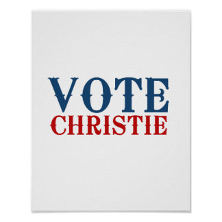 CHRISTIE 2012 DEL VOTO - POSTERS