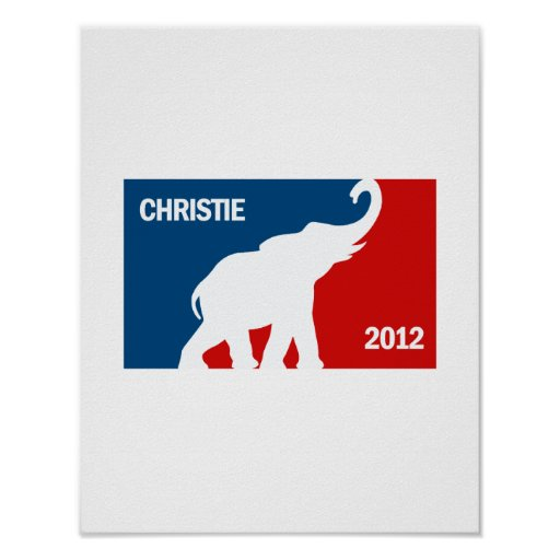 CHRISTIE 2012 FAVORABLE POSTERS