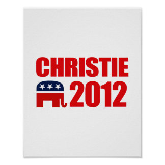 CHRISTIE 2012 POSTER