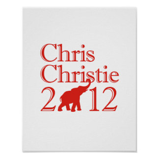 CHRISTIE 2012 REPUBL DE CHRIS IMPRESIONES