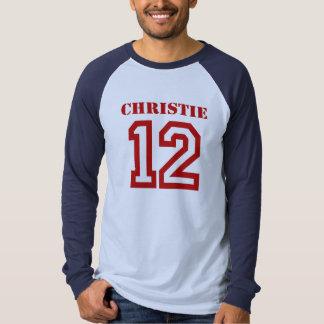 CHRISTIE EN '12 CAMISETA