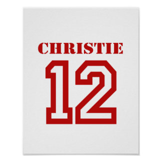 CHRISTIE EN '12 POSTERS