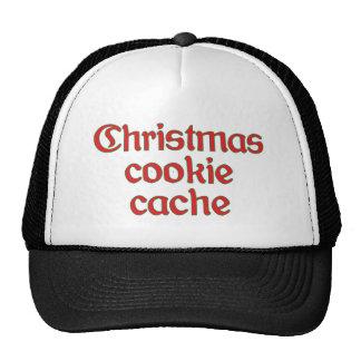 Christmas cookie cache gorro de camionero