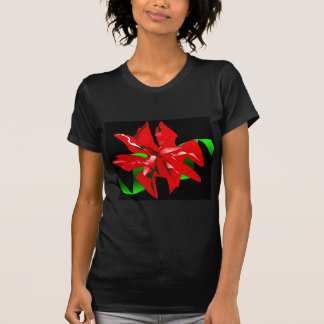 Christmas Flower T-Shirt Customizable Shirt