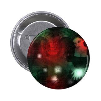 Christmas gothic pin