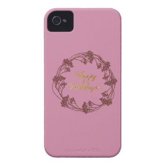 Christmassy caliente y precioso carcasa para iPhone 4 de Case-Mate