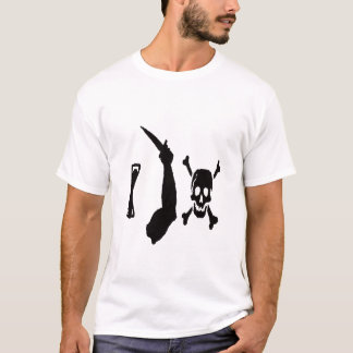 Christopher Cambiante-Negro Camiseta