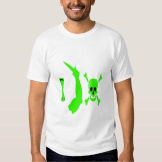 Christopher Cambiante-Verde Camisetas