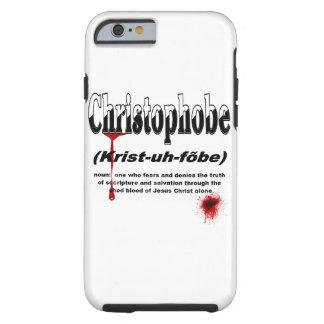 Christophobe (político incorrecto) funda para iPhone 6 tough