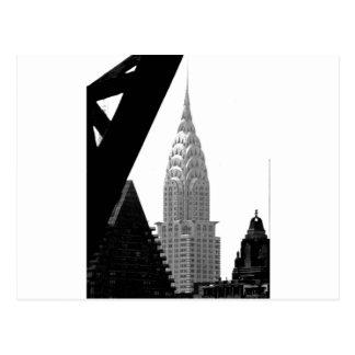 Chrysler que construye el chapitel postal