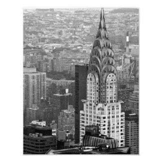 Chrysler que construye la IMPRESIÓN de la FOTO
