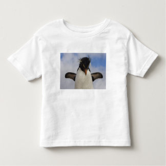 Chrysocome del Eudyptes del pingüino de Rockhopper Camiseta De Bebé