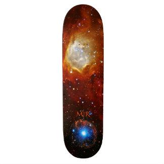 Chuchería celestial del monograma - imagen del esp tablas de skate