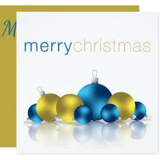 Chuchería del navidad invitación 13,3 cm x 13,3cm