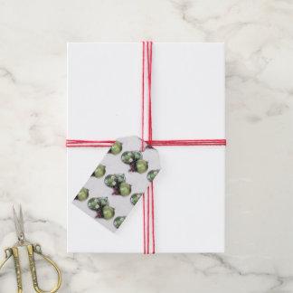 Chucherías del navidad de la etiqueta del regalo