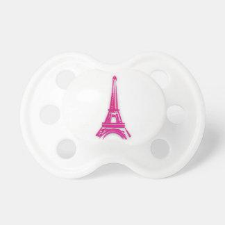 Chupete 3d torre Eiffel, clipart de Francia