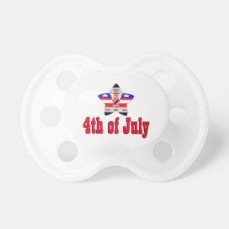 Chupete 4 de julio los E.E.U.U.
