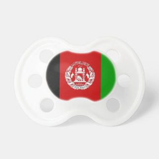 Chupete Afganistán pacificadores viejos de la bandera de