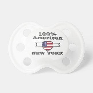 Chupete Americano del 100%, Nueva York