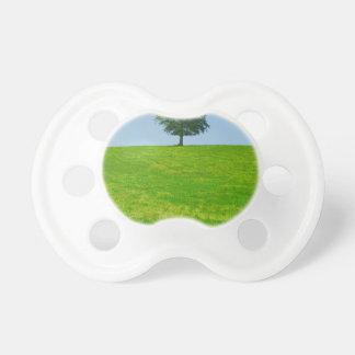 Chupete Árbol en un campo