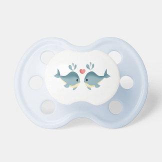 Chupete ballenas bebé