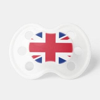 """Chupete Bandera BRITÁNICA """"Union Jack """" de Reino Unido del"""