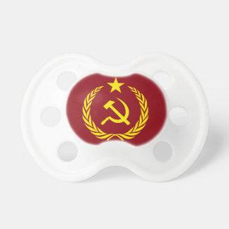 Chupete Bandera comunista BooginHead de la guerra fría