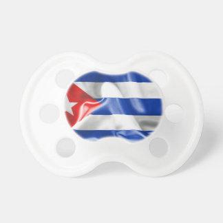 Chupete Bandera de Cuba