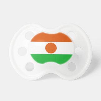 Chupete Bandera de Niger